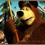 Маша и медведь сказочные картинки